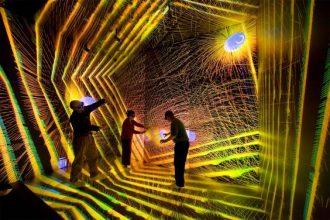 CAVE al Los Alamos Supercomputing Center