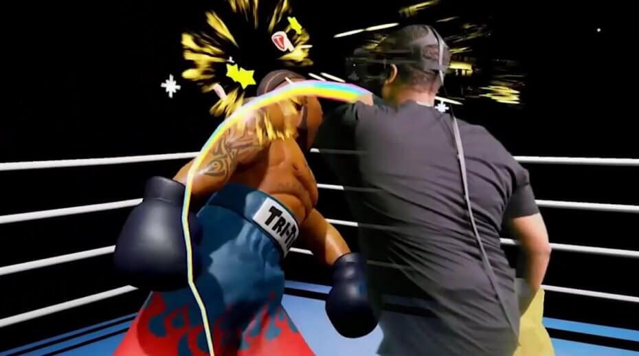 Una scena dal video trailer di Knockout League di Grab Games. immagine: Vive Studios