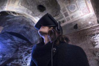 La visita virtuale della Domus Aurea RIPRODUZIONE RISERVATA © Copyright ANSA