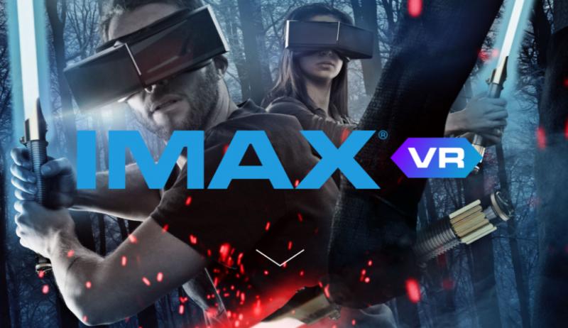 IMAX VR. immagine propozionale