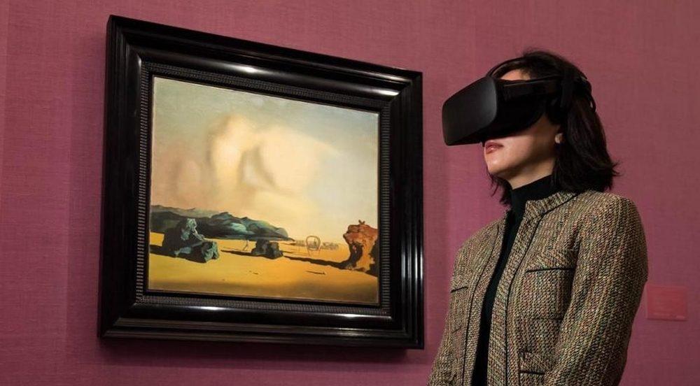 Sotheby e la campagna VR surrealismo