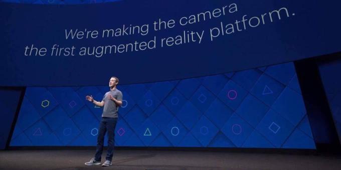 Zuckerberg parla della nuova app per la Realtà Aumentata in Facebook