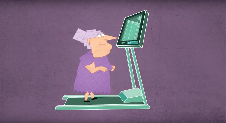 Animazione del training VR dal video ufficiale