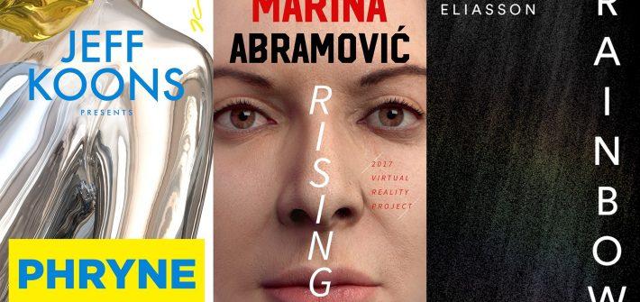 Acute Art Virtual Reality. Il catalogo virtuale di Marina Abramović, Jeff Koons e Olafur Eliasson